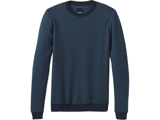 Prana Vertawn Sweat-shirt de survêtement Homme, blue note heather